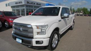 Used 2015 Ford F-150 Platinum / $374.00 bi-weekly for 84 mths for sale in Arnprior, ON