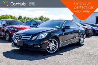 Used 2011 Mercedes-Benz E-Class E 550|Navi|Pano Sunroof|Backup cam|Bluetooth|Vented Front Seats|18