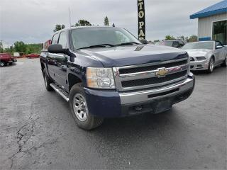 Used 2009 Chevrolet Silverado 1500 4x4 crew 156k safetied LS for sale in Madoc, ON