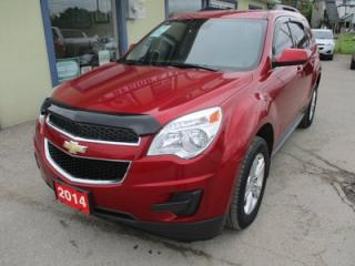 Used 2014 Chevrolet Equinox POWER EQUIPPED 1-LT EDITION 5 PASSENGER 2.4L - ECO-TEC.. ECON-BOOST.. HEATED SEATS.. CD/AUX/USB INPUT.. BLUETOOTH.. BACK-UP CAMERA.. for sale in Bradford, ON