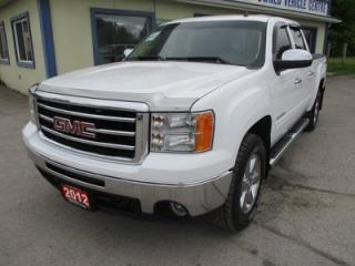 Used 2012 GMC Sierra 1500 WORK READY SLE MODEL 6 PASSENGER 5.3L - V8.. 4X4.. CREW.. SHORTY.. CD/AUX INPUT.. KEYLESS ENTRY.. TOW SUPPORT.. for sale in Bradford, ON