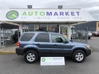 Used 2006 Ford Escape XLT 4WD LEATHER! FINANCE IT! for sale in Langley, BC