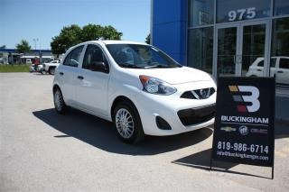 Used 2016 Nissan Micra S for sale in Gatineau, QC