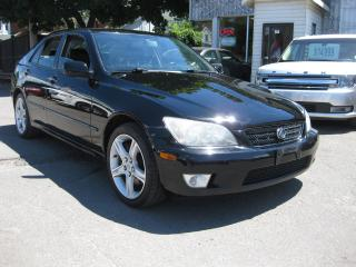 Used 2003 Lexus IS 300 Manual AC Sunroof Htd Leather low KM PL PM PW for sale in Ottawa, ON