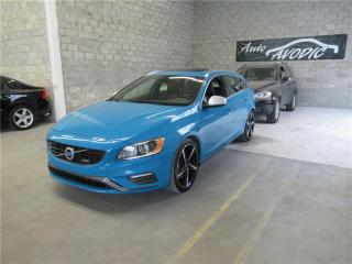 Used 2015 Volvo V60 T6 R-Design 2015.5 for sale in Montréal, QC
