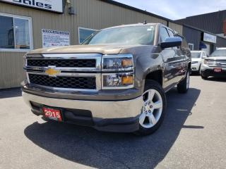 Used 2015 Chevrolet Silverado 1500 LS-NICE KM-ALLOY WHEELS-CAPPER-TOW PKG for sale in Tilbury, ON