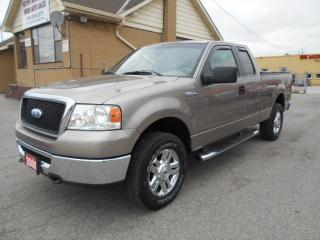 Used 2006 Ford F-150 XLT 4X4 Extended Cab 4.6L V8 Certified 164,000KMs for sale in Etobicoke, ON