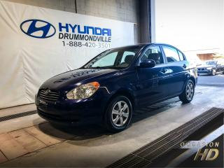 Used 2010 Hyundai Accent L + BAS KM + AUTO + WOW ! for sale in Drummondville, QC