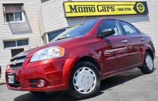 Used 2011 Chevrolet Aveo LT!Sunroof+LowKM!ONLY $102/bi-weekly! for sale in St Catharines, ON