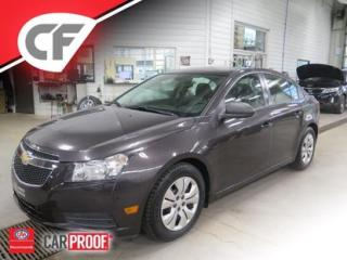 Used 2014 Chevrolet Cruze for sale in Lévis, QC