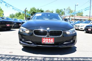 Used 2014 BMW 3 Series 320i xDrive LEATHER ROOF ACCIDENT FREE for sale in Brampton, ON