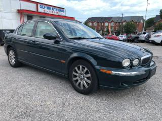 Used 2003 Jaguar X-Type Automatic/Good KM for the Year/AS IS SPECIAL for sale in Scarborough, ON