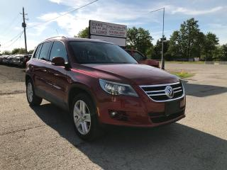 Used 2011 Volkswagen Tiguan COMFORTLINE for sale in Komoka, ON