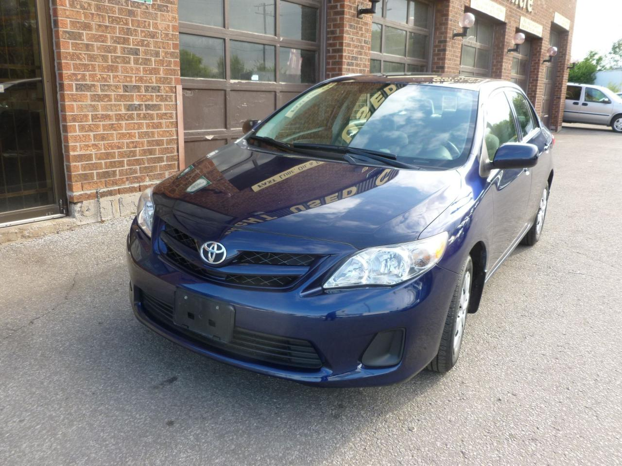 Photo of Blue 2013 Toyota Corolla