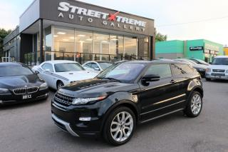 Used 2012 Land Rover Range Rover Evoque Dynamic Premium AWD | Accident Free | Backup Cam for sale in Markham, ON
