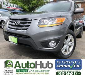 Used 2010 Hyundai Santa Fe LIMITED-LEATHER-SUNROOF-AWD for sale in Hamilton, ON