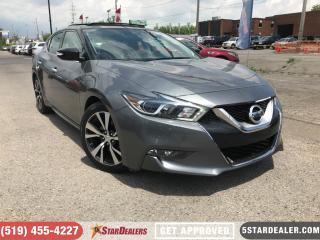 Used 2017 Nissan Maxima SV | NAV | LEATHER | PANO ROOF | CAM for sale in London, ON