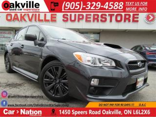 Used 2016 Subaru WRX | B\U CAM | HEATED SEATS | AWD | for sale in Oakville, ON