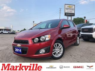 Used 2014 Chevrolet Sonic LT-POWER SUNROOF-GM CERTIFIED PRE-OWNED-1 OWNER for sale in Markham, ON