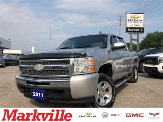 Used 2011 Chevrolet Silverado 1500 LS-4WD- 4 NEW TIRES-GM CERTIFIED-1 OWNER TRADE for sale in Markham, ON
