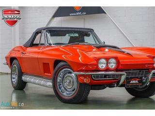 Used 1967 Chevrolet Corvette 427 StingRay Convertible for sale in Oakville, ON