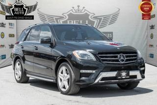 Used 2014 Mercedes-Benz ML 350 4MATIC NAVI PANO-ROOF LEATHER BACKUP CAM for sale in Toronto, ON