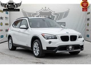 Used 2014 BMW X1 xDrive28i PREMIUM PKG PANORAMIC ROOF LEATHER AWD for sale in Toronto, ON