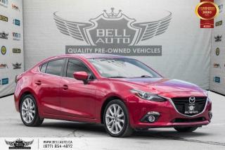 Used 2014 Mazda MAZDA3 GT-SKY, NAVI, REAR CAM, B.SPOT, LANE DEP, BOSE SOUND for sale in Toronto, ON