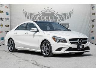 Used 2015 Mercedes-Benz CLA250 4MATIC~LIMITED PACKAGE~NAVI~PANORAMIC SUNROOF for sale in North York, ON