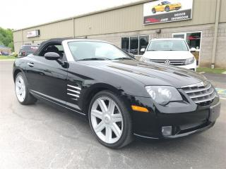 Used 2005 Chrysler Crossfire Limited Roadster 16k kms WOW for sale in St George Brant, ON