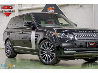 Used 2016 Land Rover Range Rover 5.0L V8 Supercharged Autobiography for sale in Oakville, ON