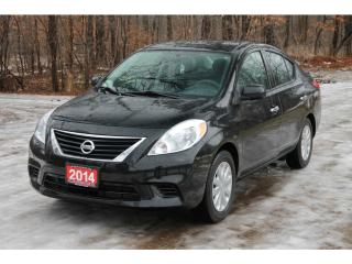Used 2014 Nissan Versa 1.6 SV ONLY 56K   CERTIFIED for sale in Waterloo, ON