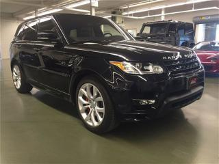 Used 2016 Land Rover Range Rover Sport V8 Supercharged for sale in Oakville, ON