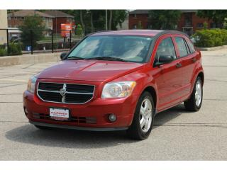 Used 2007 Dodge Caliber SXT ONLY 107K | Accident -FREE | CERTIFIED for sale in Waterloo, ON