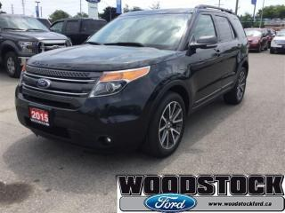 Used 2015 Ford Explorer XLT Appearance Package, Dual DVD Players for sale in Woodstock, ON
