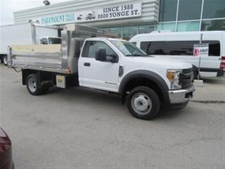 Used 2017 Ford F-550 4X4 12 FT NEW ALUMINUM DUMP BOX for sale in Richmond Hill, ON