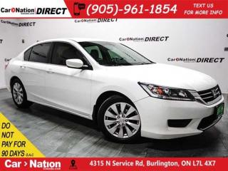 Used 2014 Honda Accord LX| BACK UP CAMERA| HEATED SEATS| for sale in Burlington, ON