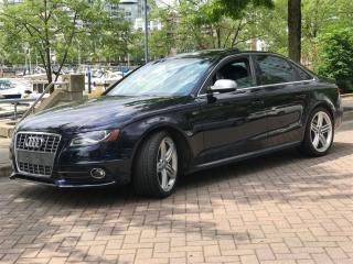 Used 2011 Audi S4 S4, QUATRO, NO ACCIDENT, FULLY LOADED for sale in Vancouver, BC