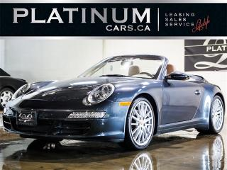 Used 2006 Porsche 911 CARRERA 4 CABRIOLET, NAVI, HEATED LTHR, TIPTRONIC for sale in North York, ON