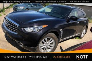 Used 2012 Infiniti FX35 AWD 360 Cam Nav Heated/Cooled for sale in Winnipeg, MB