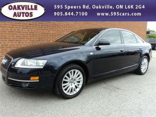 Used 2006 Audi A6 3.2L PREMIUM PACKAGE AUTO for sale in Oakville, ON