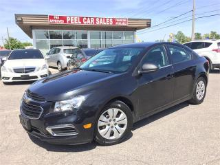 Used 2016 Chevrolet Cruze Limited LS for sale in Mississauga, ON