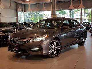Used 2017 Honda Accord Sedan TOURING-V6-NAVIGATION-CAMERA-LOADED-ONLY 47KM for sale in York, ON