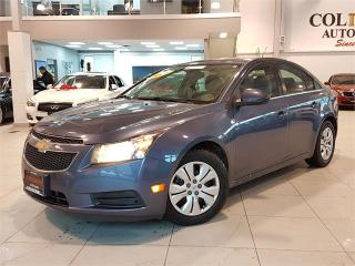 Used 2014 Chevrolet Cruze LT-AUTOMATIC-BLUETOOTH-ONLY 80KM for sale in York, ON