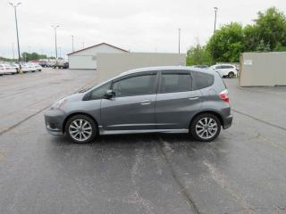 Used 2013 Honda FIT SPORT FWD for sale in Cayuga, ON
