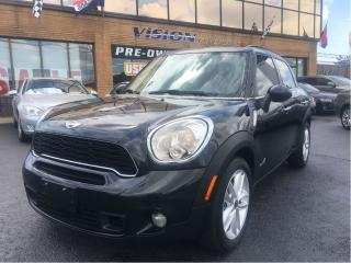 Used 2012 MINI Cooper S Countryman AWD MINI COOPER S/ AWD for sale in North York, ON