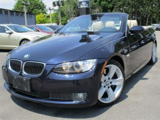 Used 2008 BMW 3 Series 335i ~ CONVERTIBLE ~ 83KMS ~ AUTOMATIC!! for sale in Burlington, ON