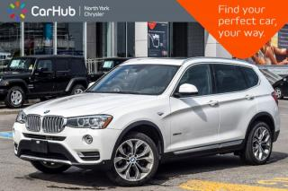 Used 2016 BMW X3 xDrive28i AWD|DriverAsst.Pkg|PanoSunroof|Nav|BackUpCam|HarmanKardon| for sale in Thornhill, ON