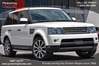 Used 2010 Land Rover Range Rover Sport HSE Navigation|Front and Rear Sensors|Leather Upholstery for sale in Pickering, ON