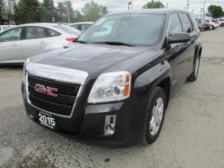 Used 2015 GMC Terrain FUEL EFFICIENT SLE-1 MODEL 5 PASSENGER 2.4L - ECO-TEC.. AWD.. CD/AUX/USB INPUT.. BACK-UP CAMERA.. KEYLESS ENTRY.. for sale in Bradford, ON